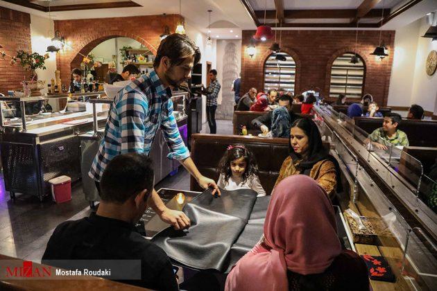 راهاندازی اولین رستوران رباتیک ایران1