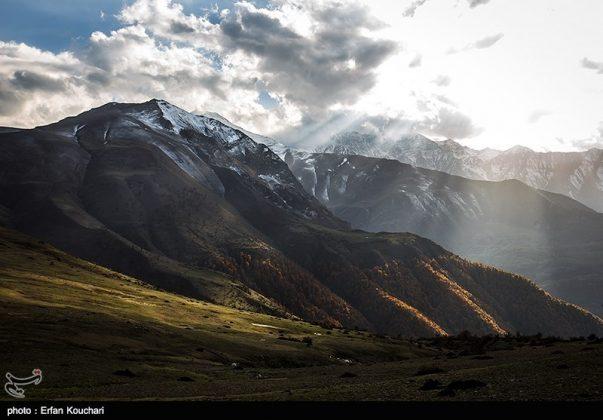 مرتفعات مازيجال الساحرة في ايران 1