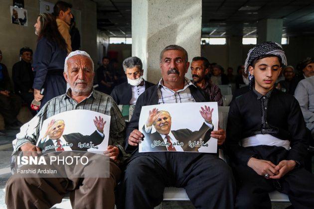 مجلس تأبين الرئیس العراقي الراحل في ايران10