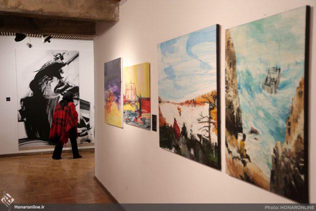 افتتاح نمایشگاه آثار نقاشی70 سال اخیر در فرهنگسرای نیاوران10
