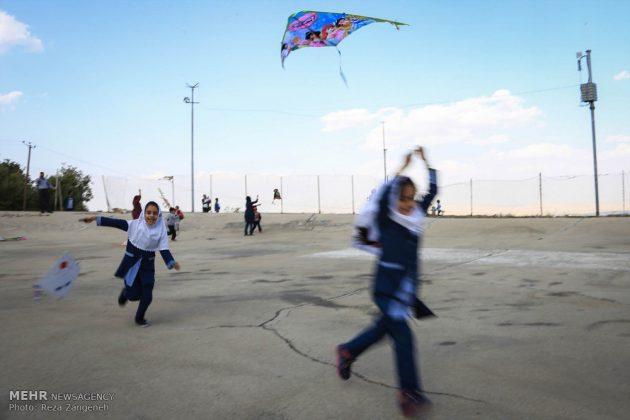 احتفال الطائرات الورقية في همدان الايرانية 10