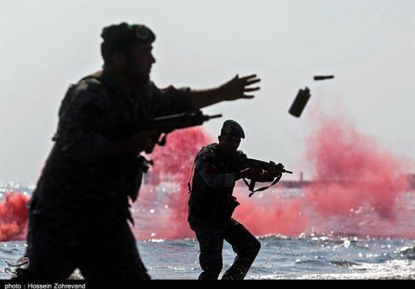 تدريبات مغاوير بحرية الجيش الايراني10