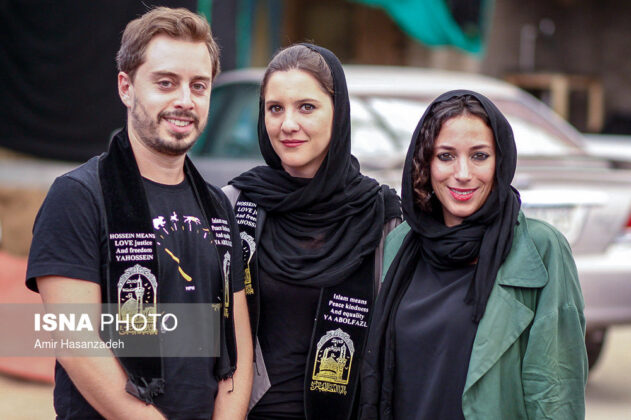 Iran Holds Special Tour of Mourning Ceremonies for Foreigners10