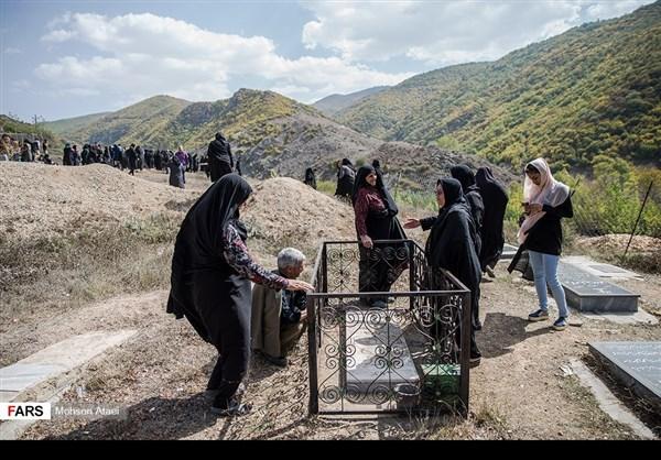 مراسم عاشوراء في ساري شمال ايران 10