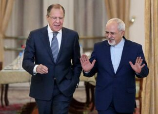 Mohammad Javad Zarif and his Russian counterpart Sergei Lavrov