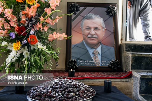 مجلس تأبين الرئیس العراقي الراحل في ايران11