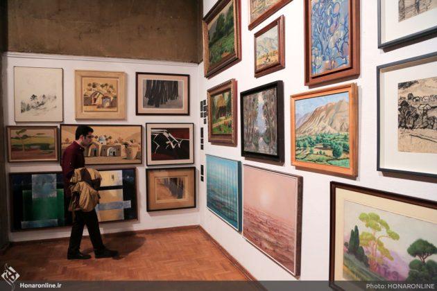 افتتاح نمایشگاه آثار نقاشی70 سال اخیر در فرهنگسرای نیاوران11