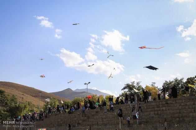 احتفال الطائرات الورقية في همدان الايرانية 11