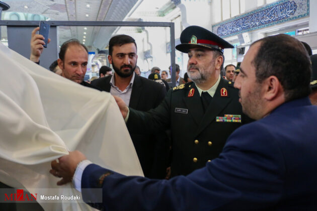 Tehran Hosts Police, Safety, Security Equipment Exhibition11