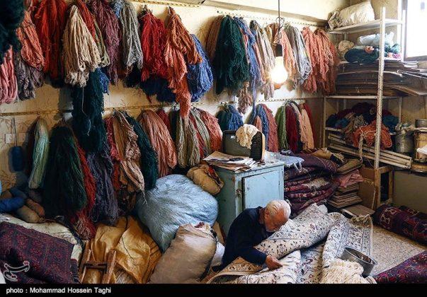 سوق السجاد في مدينة مشهد 11