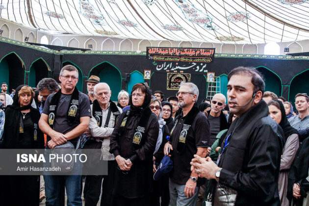 Iran Holds Special Tour of Mourning Ceremonies for Foreigners11