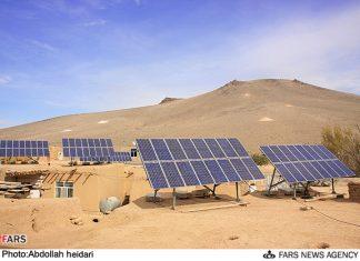217 قرية في ايران تستخدم الطاقة الشمسية