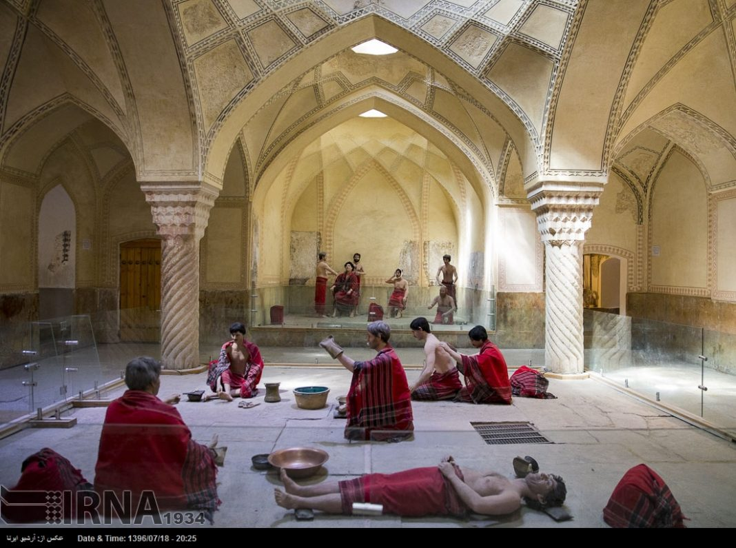 حمام الوکيل في مدينة شيراز12