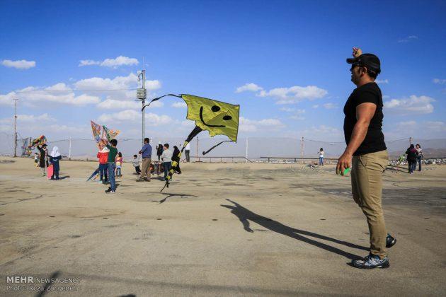 احتفال الطائرات الورقية في همدان الايرانية 12