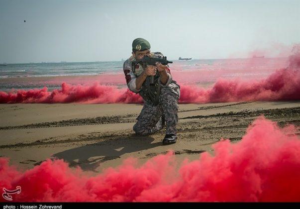 تدريبات مغاوير بحرية الجيش الايراني12
