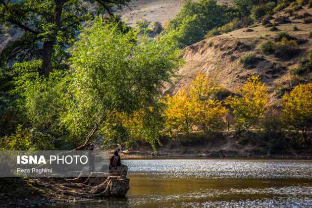 Iran's Beauties in Photos: Shourmast Lake 12