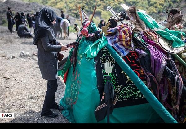 مراسم عاشوراء في ساري شمال ايران 12