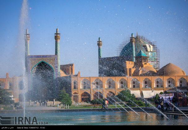 مسجد الامام في اصفهان 13