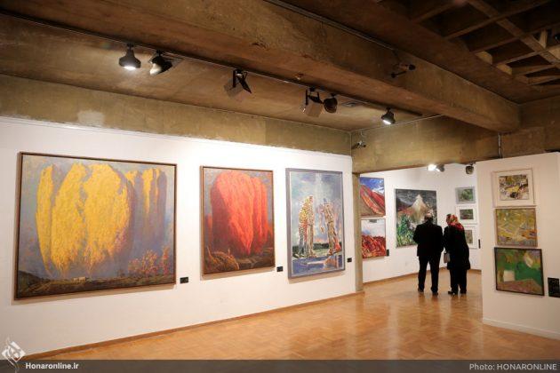 افتتاح نمایشگاه آثار نقاشی70 سال اخیر در فرهنگسرای نیاوران13