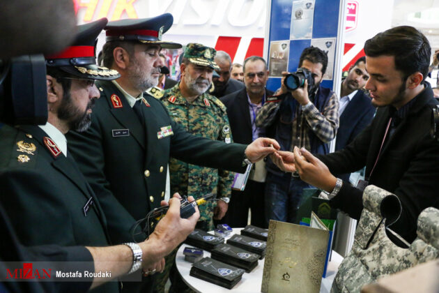 Tehran Hosts Police, Safety, Security Equipment Exhibition13