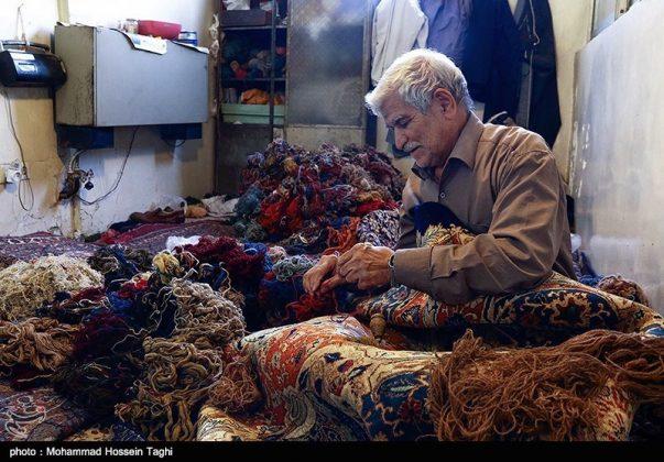 سوق السجاد في مدينة مشهد 13