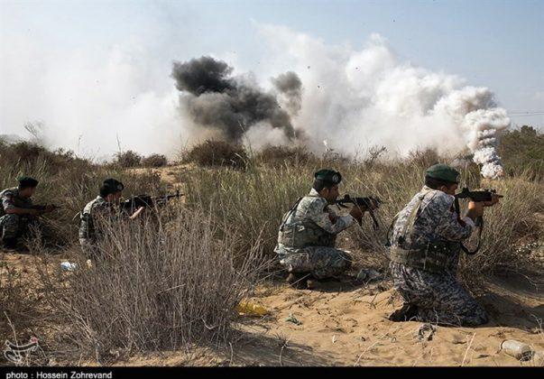 تدريبات مغاوير بحرية الجيش الايراني13