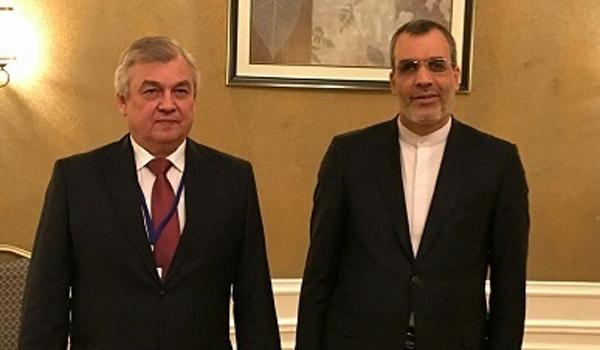ايران وروسيا تبحثان التطورات الميدانية والسياسية في سوريا