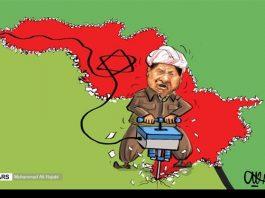 كاريكاتير.. استفتاء كردستان وفق مزاج الكيان الاسرائيلي !