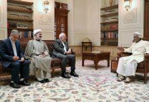 وزير الخارجية الايراني يلتقي السلطان قابوس