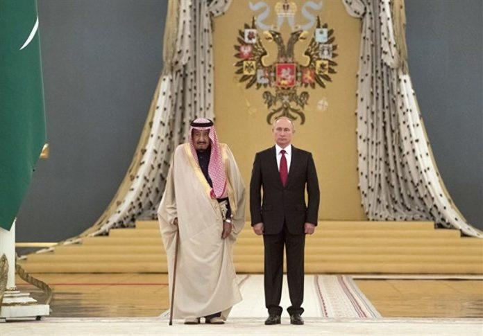 الملك سلمان - بوتين