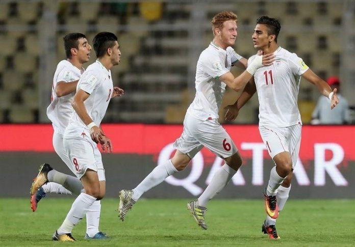ايران تفوز على المانيا ب 4 اهداف نظيفة في بطولة كاس العالم للناشئين
