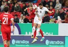 منتخب ايران لكرة القدم يتعادل مع نظيره الروسي 1-1