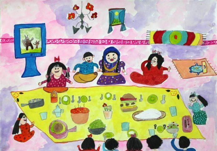 درخشش کودکان و نوجوانان ایرانی در مسابقه نقاشی ژاپن