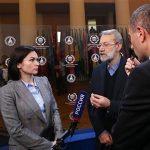 رئيس البرلمان الايراني.. سنقوم بعمل يجعل الامريكان نادمين