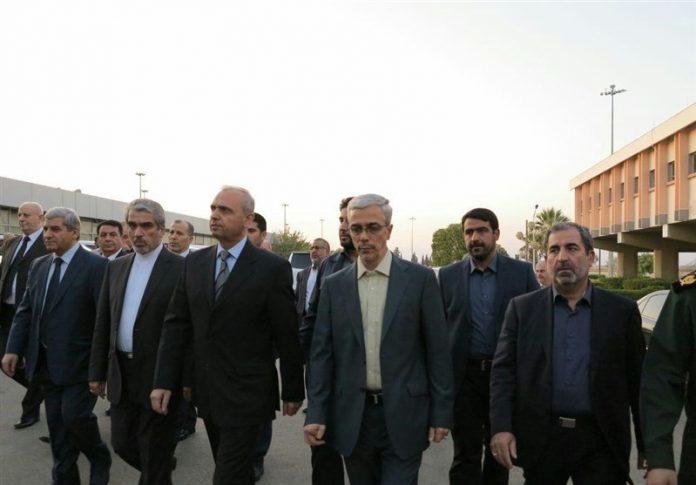 رئیس هیئة الارکان الإیرانیة في سوریا