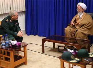 مرجع دين ايراني يشدد على دعم المرجعية الدينية في العراق وتقويتها
