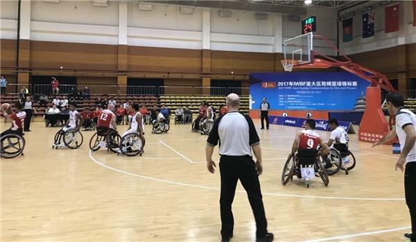 إيران تتأهل لربع نهائي بطولة آسيا لكرة السلة لذوي الاحتياجات الخاصة