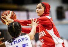 ايران .. ناشئات يهزم سريلانكا بتصفيات آسيا لكرة السلة