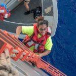 نجات دو زن بعد از پنج ماه سرگردانی در اقیانوس آرام