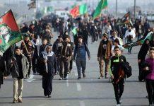 اجتياز 430 الف ايراني للمنافذ الحدودية مع العراق لزيارة الاربعين