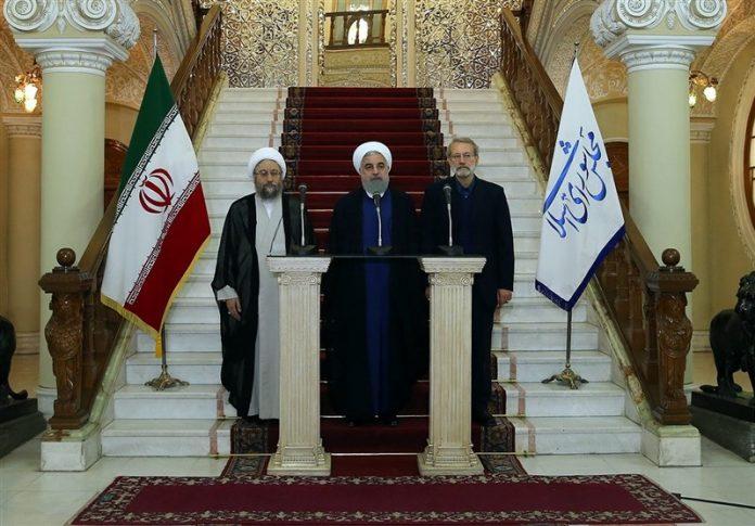 روحاني يحذر من محاولات الامريكان لاثارة الشك في نفوس الشعب
