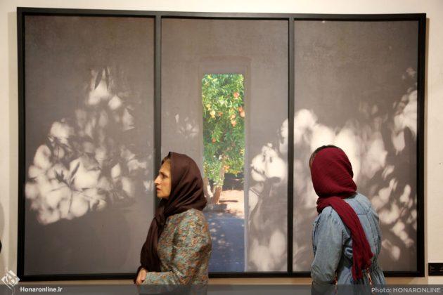 افتتاح نمایشگاه آثار نقاشی70 سال اخیر در فرهنگسرای نیاوران14