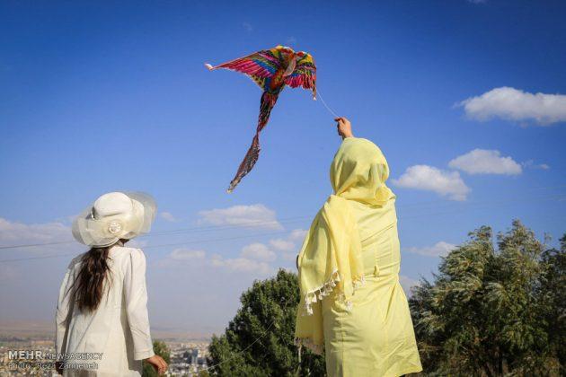 احتفال الطائرات الورقية في همدان الايرانية 14