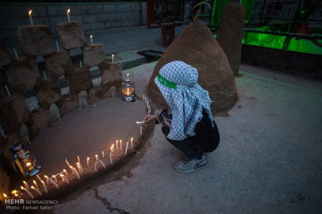 """مراسم """"التلطخ بالطين"""" يوم عاشوراء في لرستان الايرانية14"""