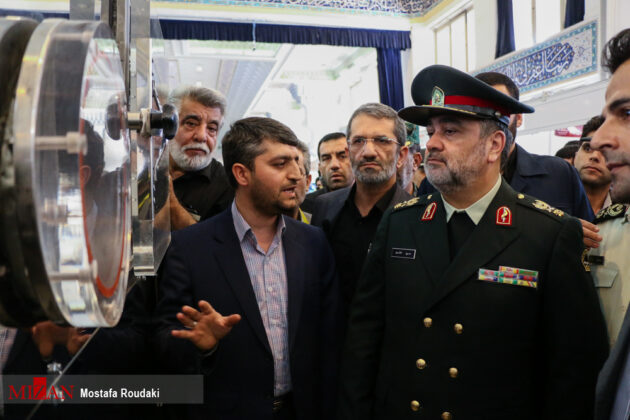 Tehran Hosts Police, Safety, Security Equipment Exhibition14