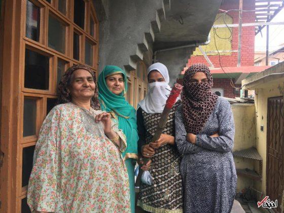 بحران در کشمیر؛ گیس زنان در خواب بریده میشود!14