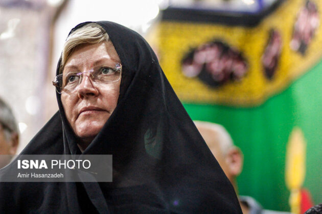 Iran Holds Special Tour of Mourning Ceremonies for Foreigners14