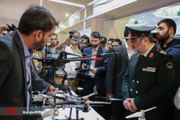 Tehran Hosts Police, Safety, Security Equipment Exhibition15