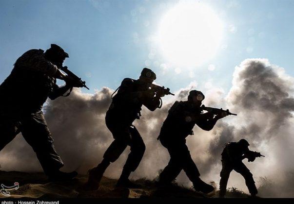 تدريبات مغاوير بحرية الجيش الايراني15