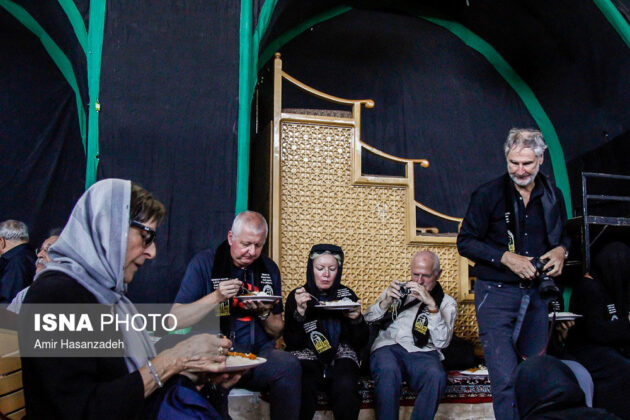 Iran Holds Special Tour of Mourning Ceremonies for Foreigners15